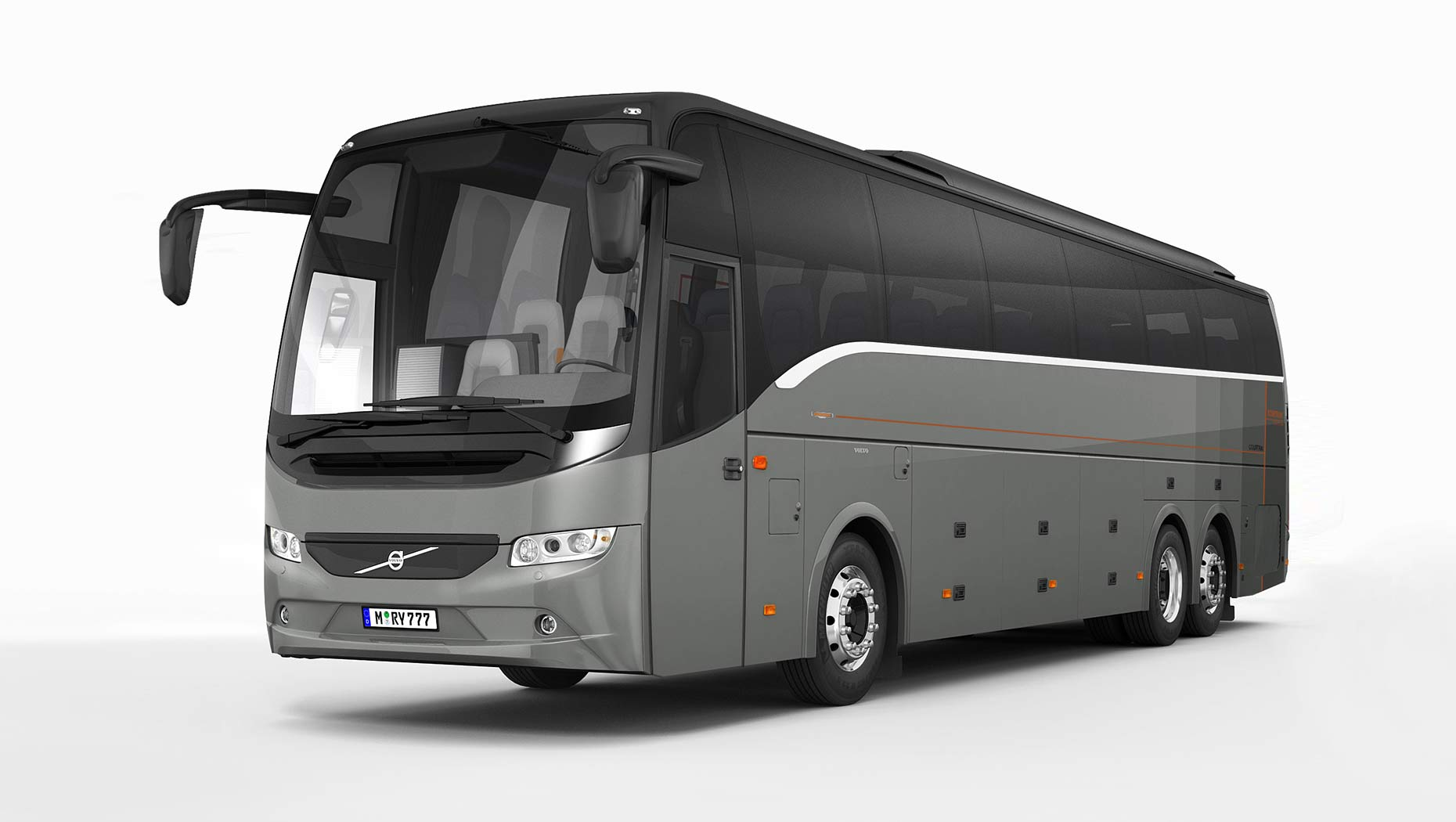 volvo buses introduces new euro vi doubledecker