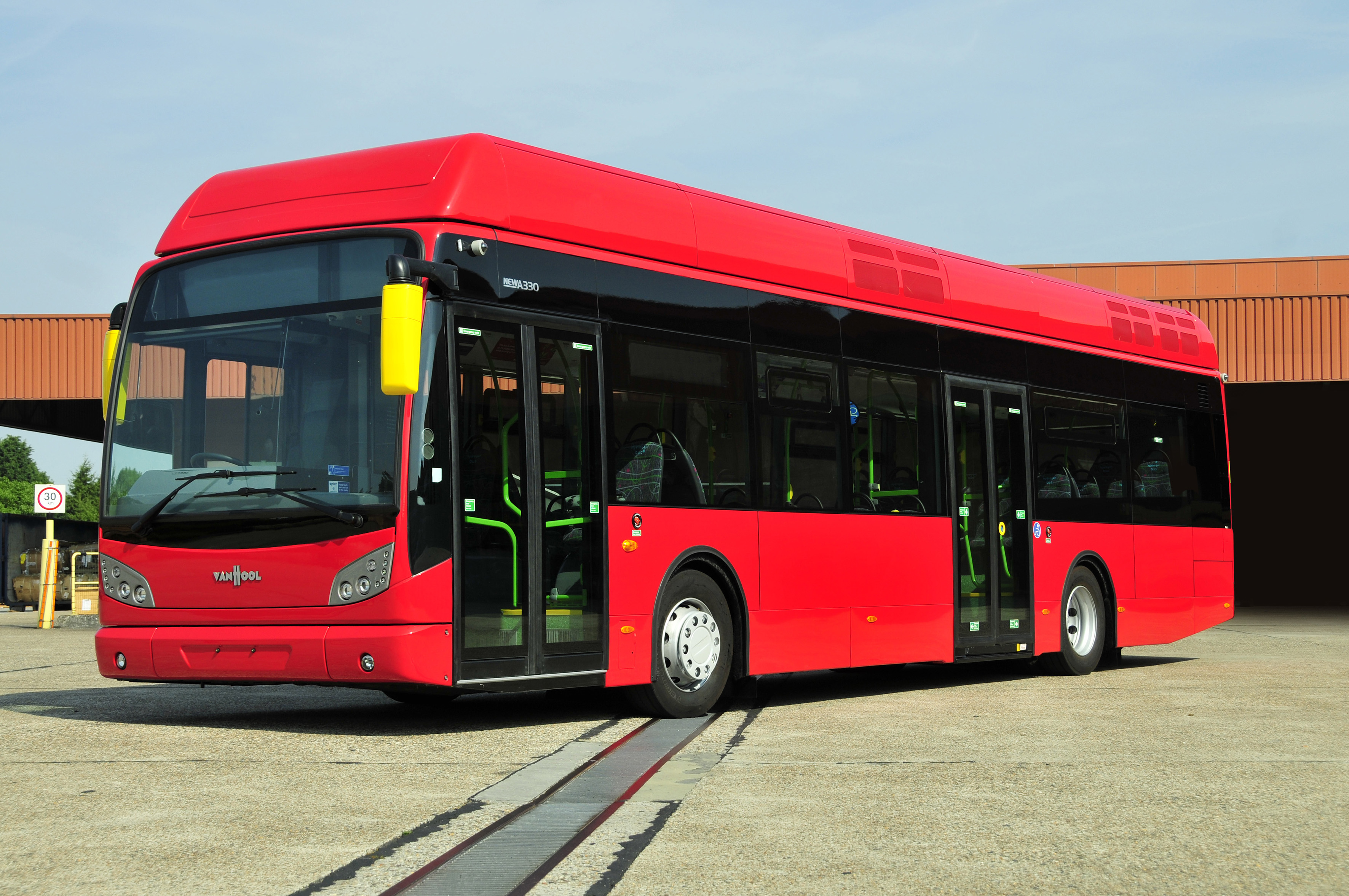 van hool to build 40 hydrogen buses for cologne and. Black Bedroom Furniture Sets. Home Design Ideas